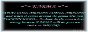 Related Pictures funny karma quotes for facebook 4999175447251254 jpg