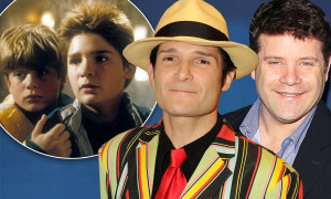 The Goonies Sean Astin And Corey Feldman Are Ready To Go For Sequel ...