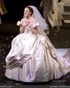 Laura Osnes, a real life princess ^_^ More