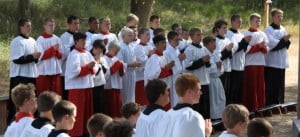 Many of these boys expressed an interest in the seminary after this ...
