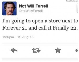 ... funny quotes celebrities celebrity will ferrell humor funny quote lol