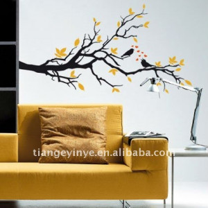 tree branch wall sticker quotes