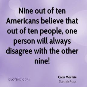 More Colin Mochrie Quotes