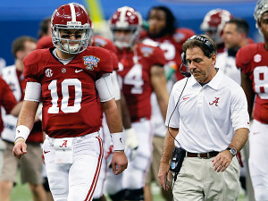 Nick Saban recently responded to AJ McCarron 's comments about ...