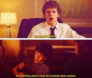 Zombieland quotes, funny, sayings, movie, photography