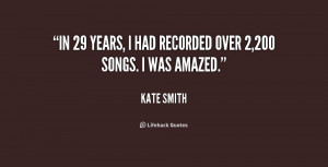 """In 29 years, I had recorded over 2,200 songs. I was amazed."""""""
