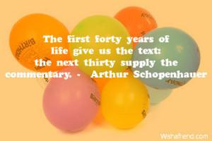 40 Birthday Sayings