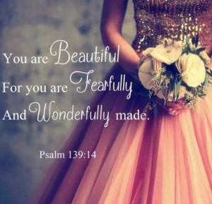 You are wonderful...