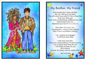 My Brother-My Friend - Suzy Toronto