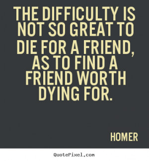 Friend Dying Quotes Friendship quote - the