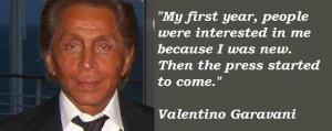 Valentino garavani famous quotes 5