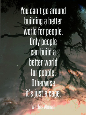 Cage – Terry Pratchett motivational inspirational love life quotes ...