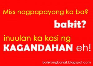 Astig Banats Tagalog Jokes Sms Banat