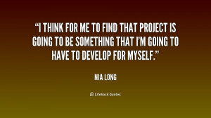 Nia Long Quotes