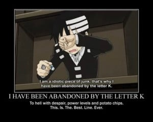 funny soul eater quotes soul eater death the kid quote