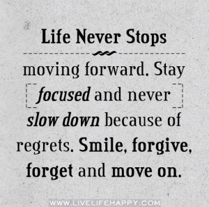 Quotes | Top 12 quotes about moving on