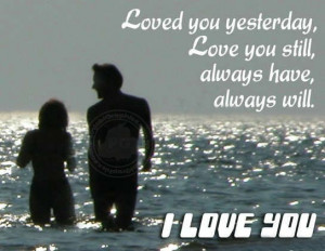 Love Quote: I Love You