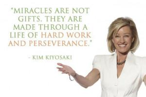Kim Kiyosaki Quotes : Hard Work