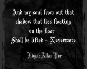What inspired Edgar Allan Poe to write?