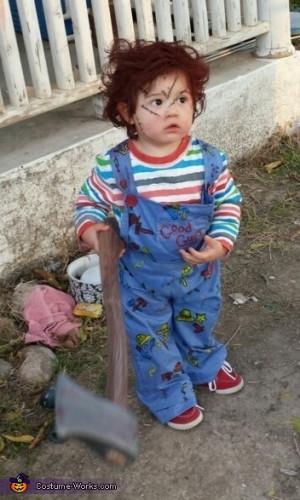 Bride of Chucky Costume Babies