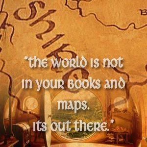 Tolkien; The Hobbit Quotes - Gandalf ~~~~Just so ya'll know I made a ...