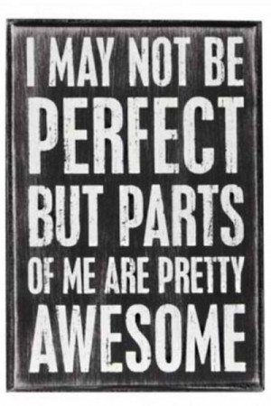 parts of me are awesome