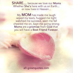 ... Loving Memory Cards For Mom Mothers Day SHARE because we love our Moms