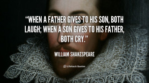 Famous Father Son Quotes