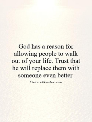 God Quotes Faith Quotes Things Happen For A Reason Quotes Trust In God ...