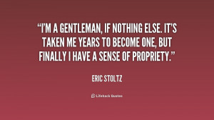 39 m a Gentleman Quote