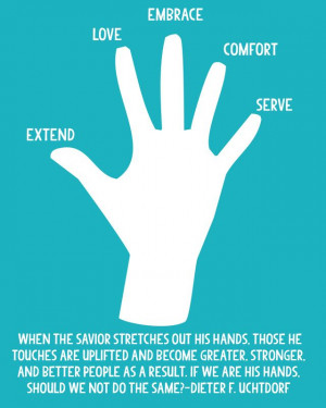 ... more Christlike in my service to others? Free download from LDS Nest