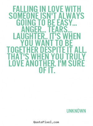 Falling in Love with Someone Quotes