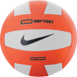 Nike 1000 Softset Outdoor Volleyball - White/Total Orange