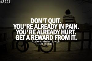 Don't quit - Quotables - Quora