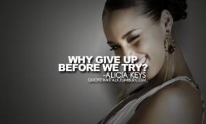 alicia keys quotes on Tumblr