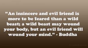 evil friend