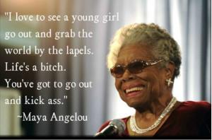 Inspirational Quotes: Women kicking ass