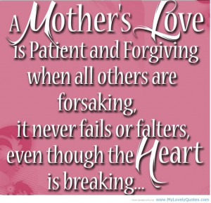 Quotes About Mother's Love - Bing Images