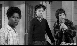 ... Evans (Calpurnia), Phillip Alford (Jem), and Mary Badham (Scout