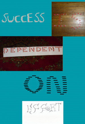 Success is dependent on effort - Success Quote.