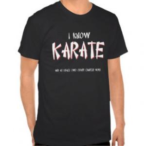 Kids Karate Funny Shirt