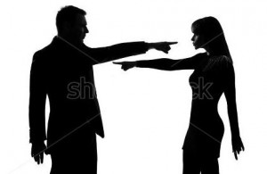 Accusing someone