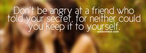Secrets {Friendship Facebook Timeline Cover Picture, Friendship ...