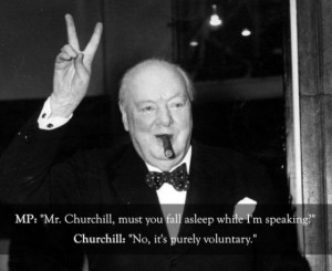 Funny Winston Churchill Quote Joke Image Pictures
