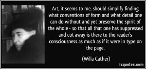 More Willa Cather Quotes