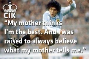 Weekly Quotes: Diego Maradona