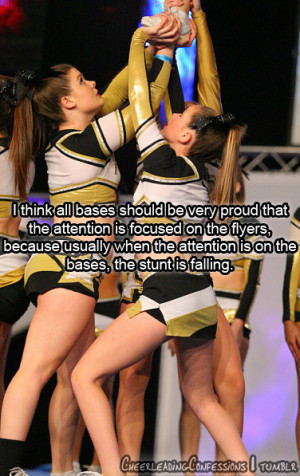 Submit your cheerleading confessions!