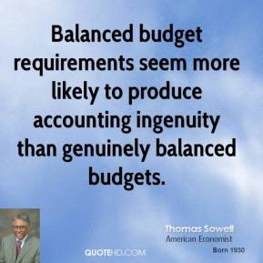 Balanced Budget Quotes Pictures