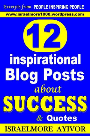 12 inspirational Blog Posts about Success amp Quotes as Want to Read