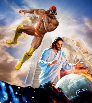 And lo, it came to pass that Macho Man Randy Savage did prevent the ...